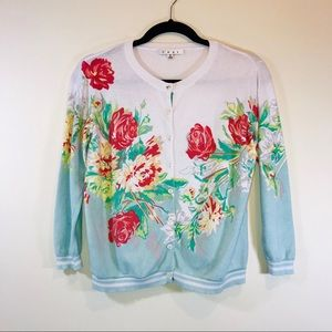 CAbi Sweaters - CAbi Spring Bouquet Floral Button Cardigan - #1108